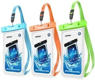 Mpow Universal Waterproof Case, Cellphone Dry Bags (3 pack)