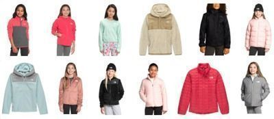 40% off Girls North Face Jackets