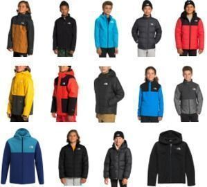 40% off Boys North Face Jackets