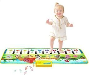 Keyboard Dancing Mat,Electronic Touch Play Blanket Musical Carpet Toy for 3-6 Year Old Kids
