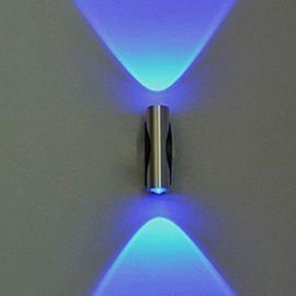 Creative Blue Wall Light