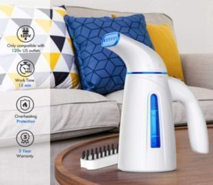 Portable Mini Fabric Steam Iron for Home and Travel