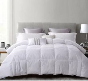 Serta White Duck Feather & Down Comforter