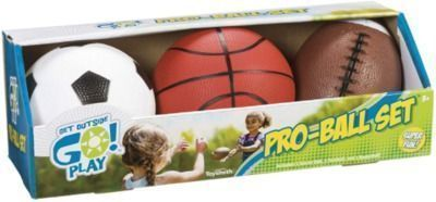 Get Outside GO! Pro-Ball Set, Pack of 3