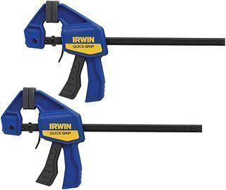 Irwin Quick-Grip 6  Bar Clamp, 2pk