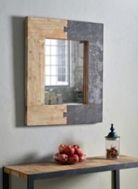 Norma Distressed Accent Mirror