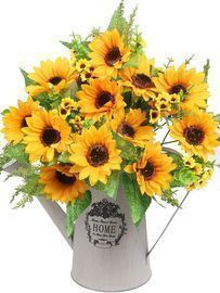 AmyHomie Artificial Sunflower Bouquets