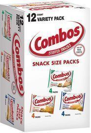 12 Count Box of Combos Variety Pack Fun Size Baked Snacks