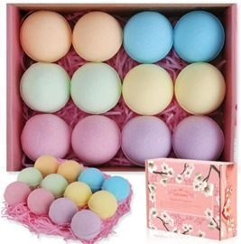 12Pc Handmade Bath Bombs Gift Set