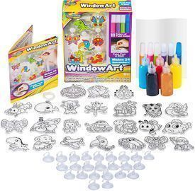Window Paint Art Stickers Kit By Creative Kids Store