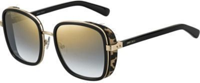 Jimmy Choo Elva Mirrored Square Sunglasses