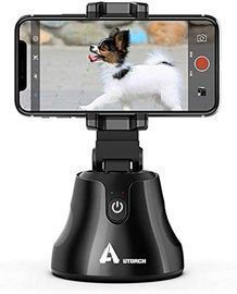 360 Rotation Face Object Auto Tracking Smartphone Holder