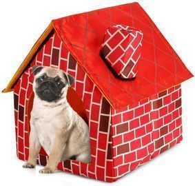 Soft-Sided Brick Pet House