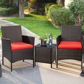 Walnew 3 Pc. Outdoor Patio Furniture Set