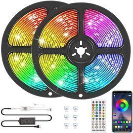 32.8' Bluetooth LED Strip Lights