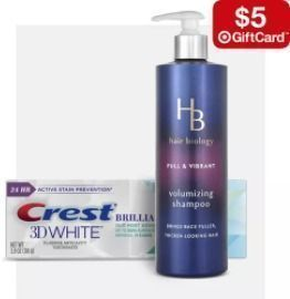 Target - Free $5 Gift Card w/ 4 Hair Care & Personal Care Items