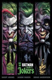 Batman: Three Jokers Hardcover Book