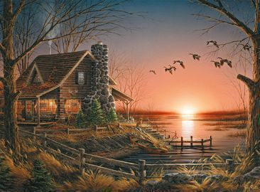 Buffalo Games Terry Redlin Comforts of Home 1000-Pc. Puzzle