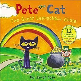 Pete the Cat: The Great Leprechaun Chase (Hardcover)
