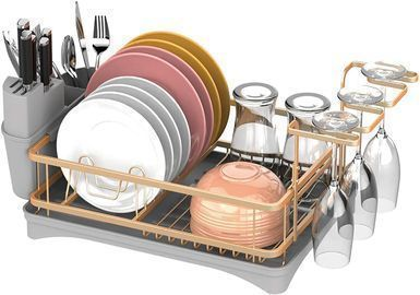 Aluminum Dish Drying Rack