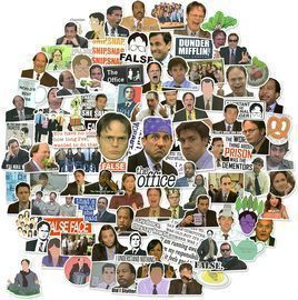The Office Stickers-100Pack