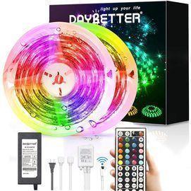 DAYBETTER 32.8ft Waterproof LED Strip Lights