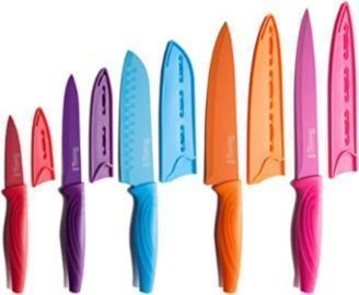 MICHELANGELO Kitchen Knife Set, 10 Piece