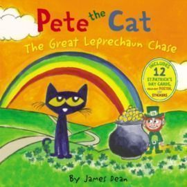 Pete the Cat: The Great Leprechaun Chase, Hardcover