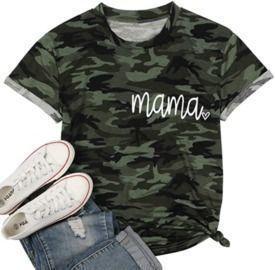 Camouflage Mama T-Shirt