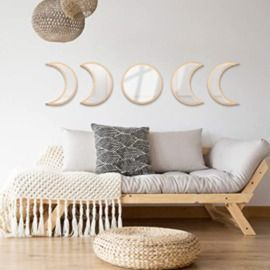 Moon Phases Wall Mirrors