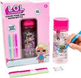 L.O.L. Surprise! Color Your Own Water Bottle