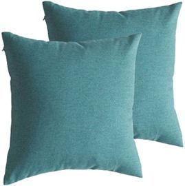 18x18 Outdoor Waterproof Throw Pillow Covers - Set of 2