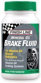 Finish Line High Performance Mineral Oil Brake Fluid, 4 oz.
