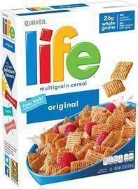 3pk of Life Breakfast Cereal, Original, 13oz Boxes