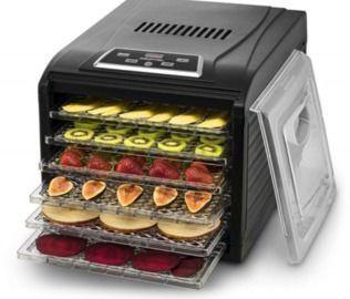 Gourmia 6-Tray Premium Electric Food Dehydrator