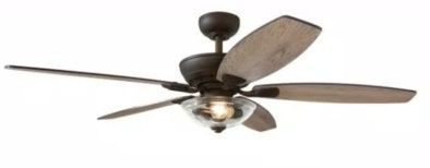 Home Decorators Collection Connor 54 LED Ceiling Fan