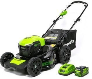 GreenWorks G-MAX 40V 20 Cordless 3-in-1 Lawn Mower (MO40L410)