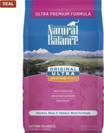 Natural Balance 6lb Bag of Chicken Meal & Salmon Meal Formula