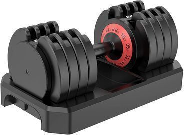 Famistar 5-Levels 6.6 to 44 lbs Adjustable Dumbbells