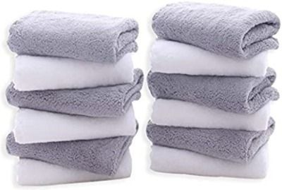 12 Pack Premium Washcloths Set