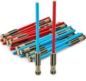 Light Saber Pencils Party Favors, Set of 24