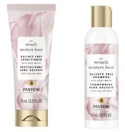 Pantene Nutrient Blends Miracle Moisture Shampoo & Conditioner