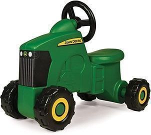 TOMY John Deere Sit-N-Scoot Tractor Toy