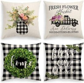 Spring 18x18 Pillow Covers