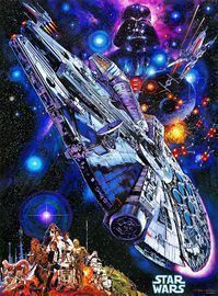 Star Wars Vintage Art: 1000 Piece Jigsaw Puzzle