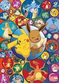 Pokemon Bubble 500 Piece Jigsaw Puzzle