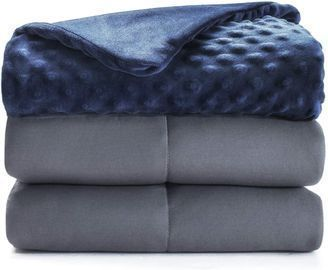 Weighted Blanket with Removable Duvet Cover