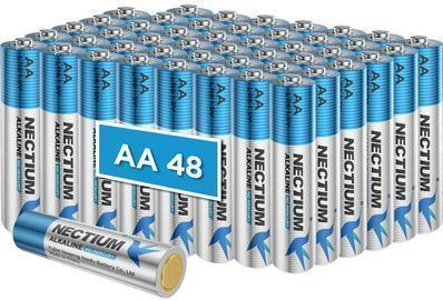 Alkaline Batteries AA-48 Pack