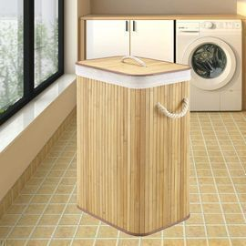 Bamboo Laundry Baskets with Handles