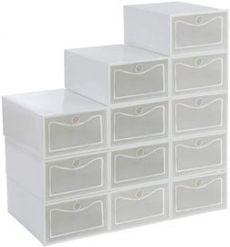 Shoe Organizer Boxes -Pack of 12